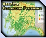 RapidEye Alaska Frequency - Click for larger image