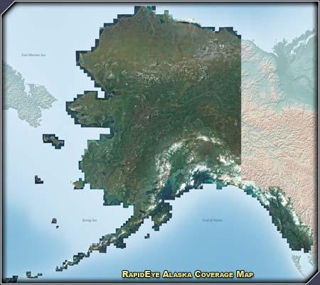 RapidEye Coverage Map