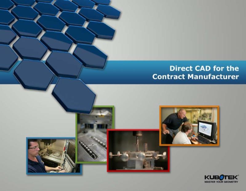 Direct CAD for Contract Manufacturers eBook