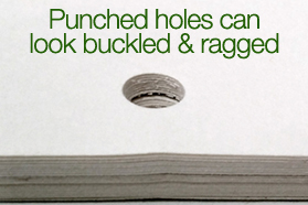 Punched versus drilled holes_ which is better_