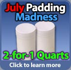 Buy 1 qurt of padding compound get a 2nd free