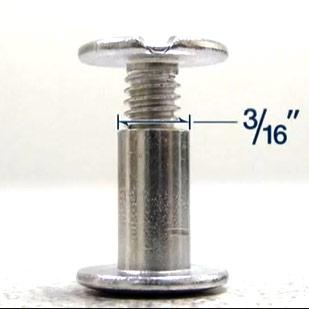 Screw Posts Barrel Diameter