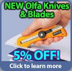 May 2013 Special Save on Olfa Cutting Items