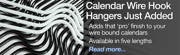 New Calendar Wire Hook Hangers Just Added