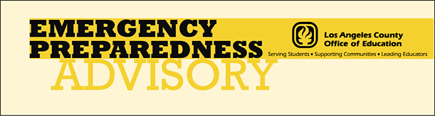 Emergency Preparedness Advisory