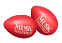 Red Egg Shakers