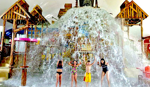 Timber Falls Indoor Water Park at Tan-Tar-A Resort