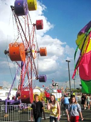 Ferris Wheel at Dogwood Festival