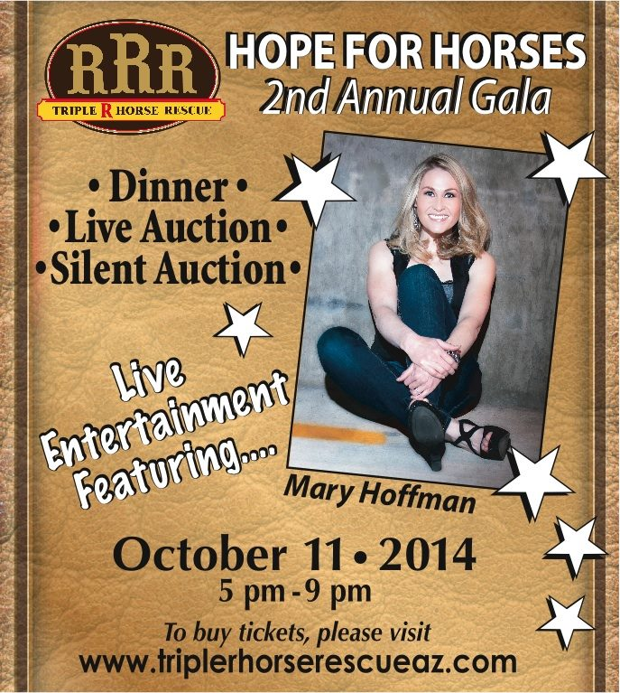 Triple R Horse Rescue To Host 2nd Annual Gala
