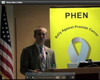 Prostate Health Education Network March Webcast
