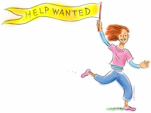 volunteer help clip art
