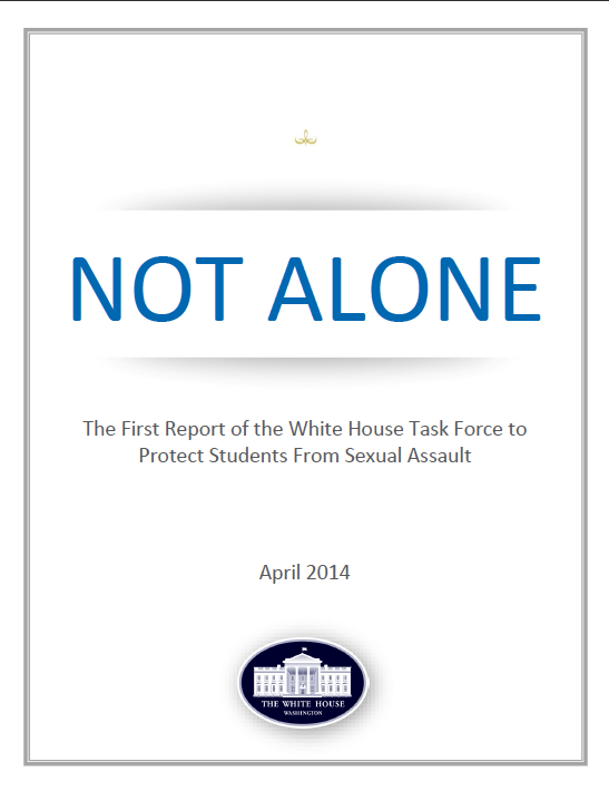 Not Alone report cover image