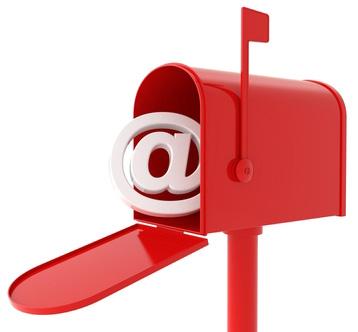 Mailbox red