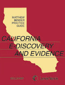 P1550 Calif. E-Discovery book cover