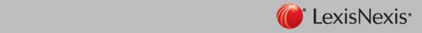 LexisNexis Brand Logo Bottom Grey