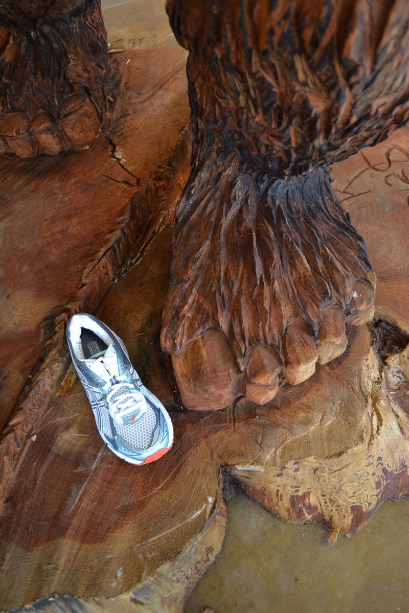 sasquatch foot