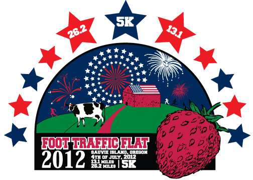 Flat logo 2012