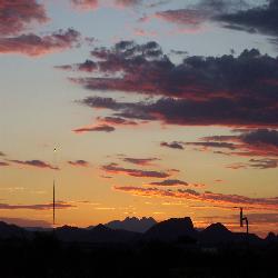 Monsoon Sunrise