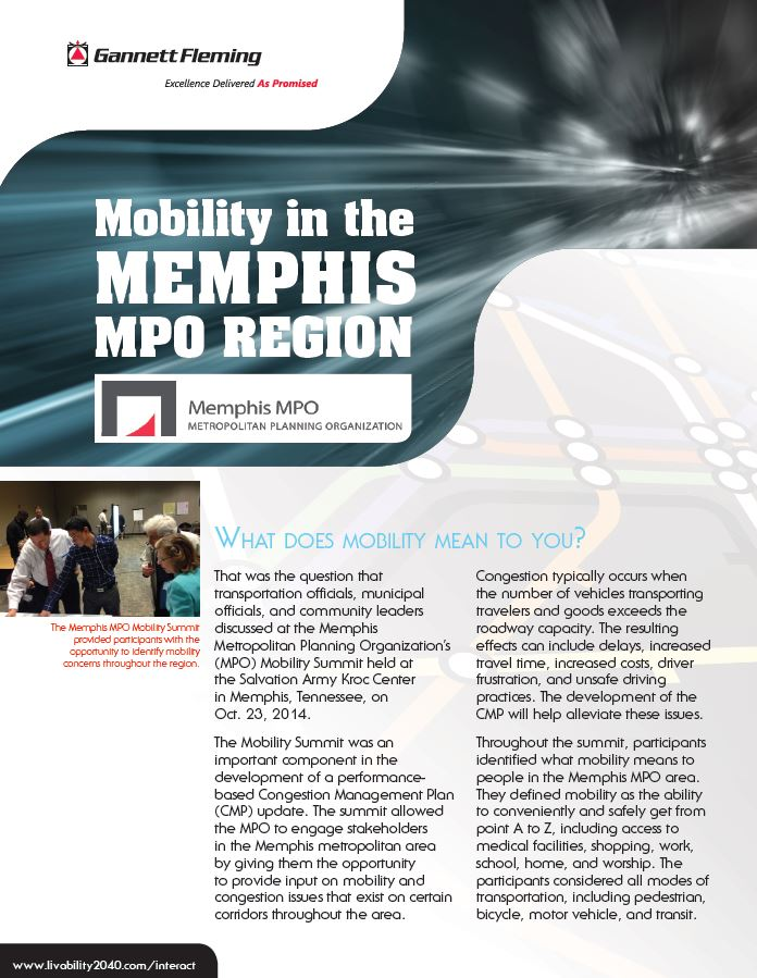 article featuring the Memphis MPO