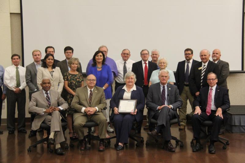Mayor Sharon Goldsworthy recognition