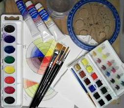water color supplies