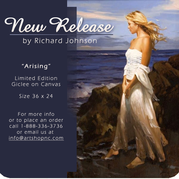 New Release by Richard Johnson Arising