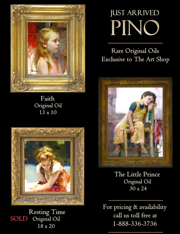 Pino Originals Just Arrived at the Gallery