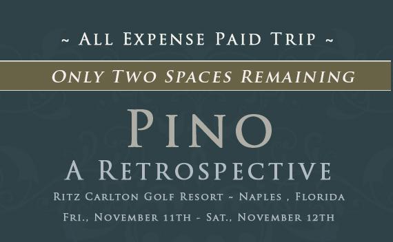 Pino Retrospective Show