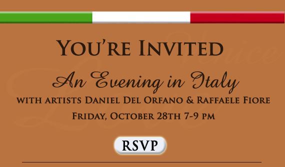 Evening in Italy - RSVP
