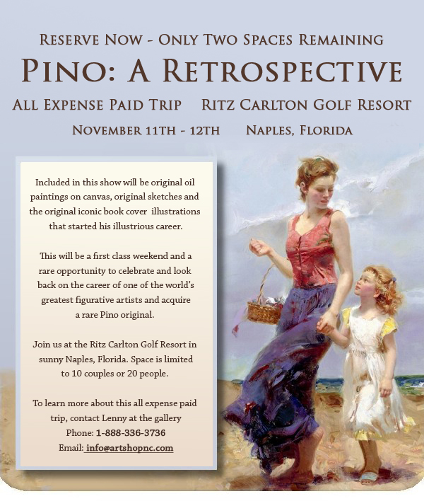 Last Chance to Reserve Your Spot - Pino Retrospective