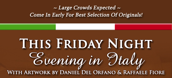 Evening in Italy - This Friday