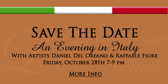Save The Date - An Evening In Italy - October 28th