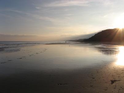 Beach landscape by Justin Byrne