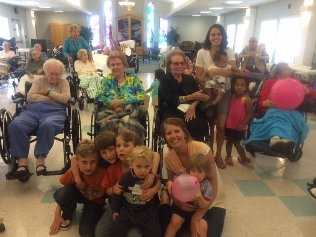 Seniors with Kids