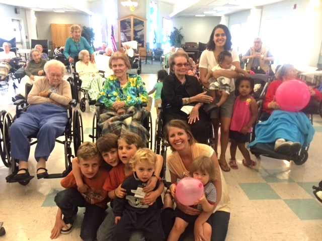 Toddlers with Seniors