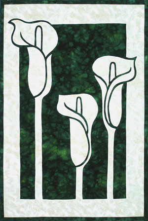 Calla Lilies-white