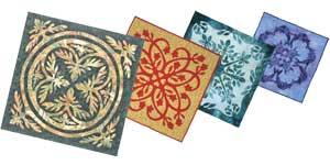 Hawaiian quilt array photo