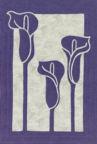Calla Lilies, purple