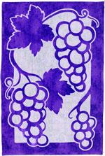 Grapes, purple