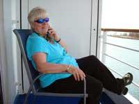 Nancy on cruise