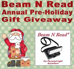 Beam N Read give-away