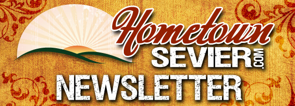HometownSevier.com Newsletter Header
