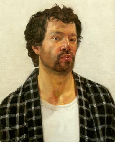 self portrait Felix de la Concha