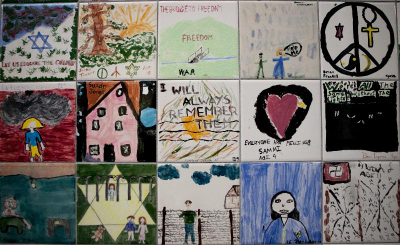 Children's wall USHMM