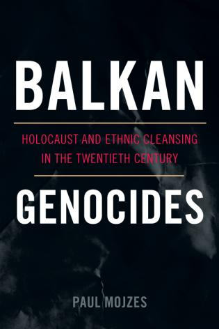 Balkan Genocides Book cover