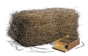 bale of pine needles