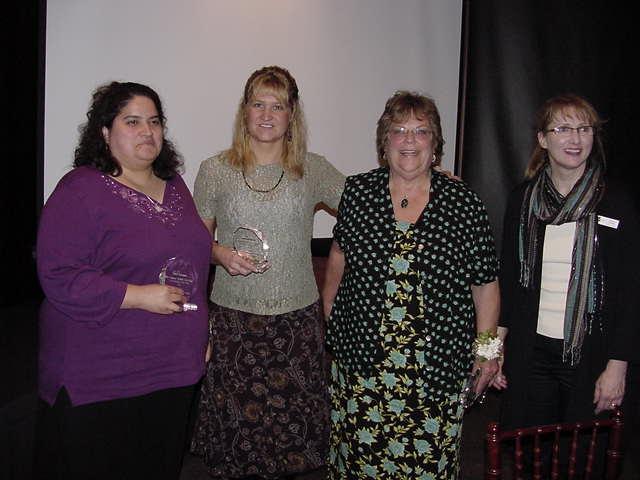 Tami Flett, Kim Donk, and Becky Cronk