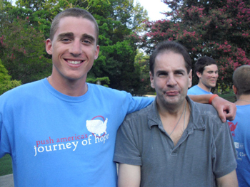 Speaker Ryan Dodge and Arc member