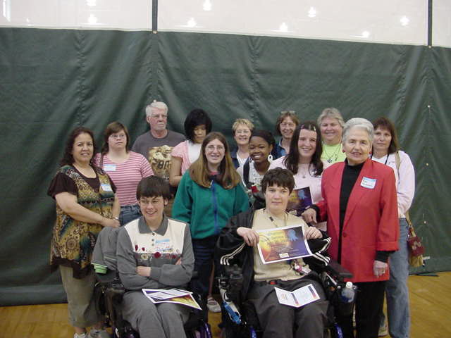 Youth Self Advocates after receiving the Whatcom Youth Service Award
