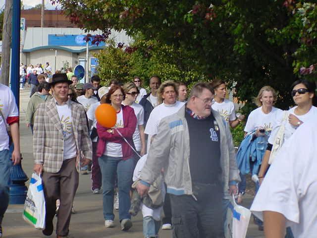 Walking the Buddy Walk- October 4, 2008